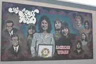 Guess Who Mural - Heartland International Travel and Tours - Hermetic Code Tour - Winnipeg - Manitoba