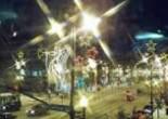 Lights on street