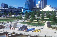 The Forks - Heartland International Travel and Tours - Architectural Tours - Winnipeg - Manitoba