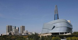 CMHR and Downtown Winnipeg
