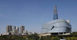 CMHR and Downtown Winnipeg