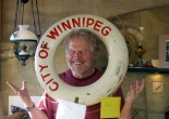 Randy and Winnipeg life preserver