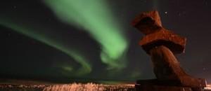 aurora+and+inukshook